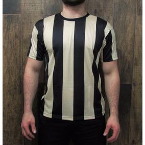 Camiseta Dry Fit Listrada Malha Fria - Várias Cores!