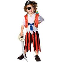 Disfraz Para Niño Pirata Del Caribe De Vestuario Co Descuen