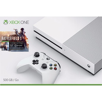 Consola Xbox One S 500gb Battlefield 1 Blanca Envio Gratis