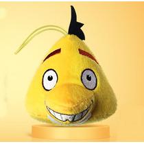 Pelucia Angry Birds Chuck - Coleção Lanche Mc Donalds