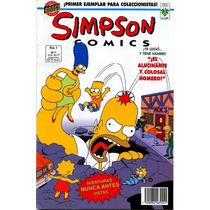 Mega Pack Comics Los Simpson (digital En Español)