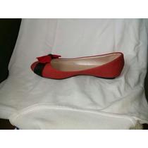 Zapatos De Dama Mujer Rojo Talla 37 Zapatillas