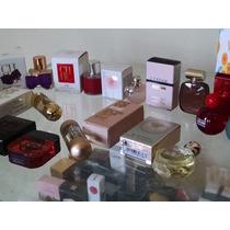 Miniaturas Perfumes Importados Originais Vários Modelos Cada