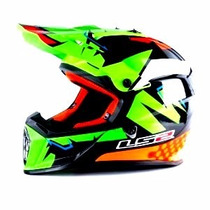 Casco Motocross Ls2 Mx 437 Fast Explosive Green Motos Miguel