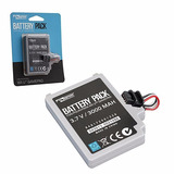 Bateria Para Control Gamepad Nintendo Wii U 3000mah Nueva