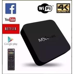 Aparelho Trasnformar Em Smart Tv Box Mx9 4k Android + Brinde