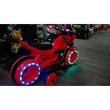 Moto Triciclo Carro Batería Eléctrica Futurista Niño Y Niña