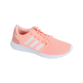 Zapato adidas Neo Casual Cloudfoam Qt Racer Mujer - Rosa