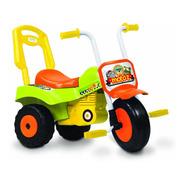 Triciclo Infantil Moto Z Kuma Kids Caño De Acero Con Baul