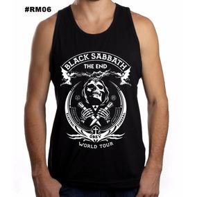 Camisa Camiseta Regata Black Sabbath Camisa Rock Ozzy
