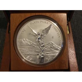 Moneda 1 Kilo Plata Onza Libertad 2008