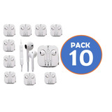 Pack 10 Audifonos Tipo Earpods Compatible Iphone Ipod Gocy