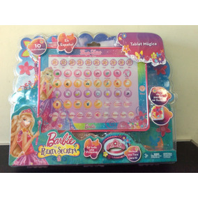 Computadora Ipad Barbie Pc Tablet Español Juguete Niña