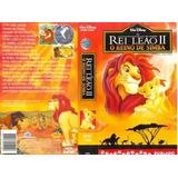 Vhs Disney Rei Leão 2 O Reino De Simba Dublado, Novinho