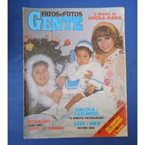 Revista Fatos E Fotos Gente Numero 794 - Angela Maria