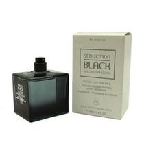 Perfume Antonio Banderas Seduction In Black 100ml Edt Tester