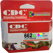 Cartucho De Tinta Cdc 662xl 662 Color Cz106ab | 12 Ml