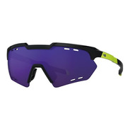 Óculos Ciclismo Hb Shield Compact Road Black/yellow/purple