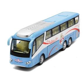 Miniatura De Ônibus Irizar Varias Funções Abre Portas Luzes