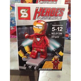 Lego Homem De Ferro- Iron Man - Heroes
