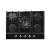 Tope Cocina Empotrar Gas Bacco 70 Cm Vitroceramica Btcg755b