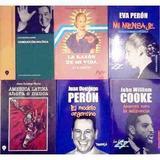 Perón X 3 Libros Conducción Política Mi Mensaje América Lati
