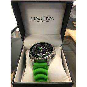 Reloj Náutica Correo Verde.