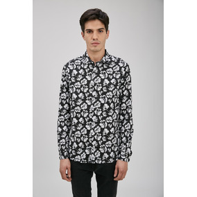 Camisa Hombre Am Flower Airborn Oficial