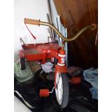 Triciclo Rojo Con Vagón Marca Apache