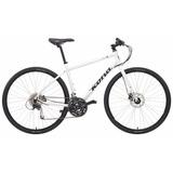 Bicicleta Kona Dew Plus 2014 Branco Fosco - Tam M
