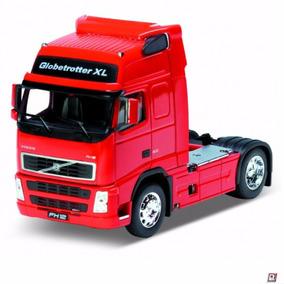 Miniatura Caminhão De Ferro Volvo Fh12 Globertrotter Xl 1/32