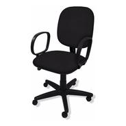 Cadeira Diretor Giratória Flex C/ Lamina De Aço Braço Corsa