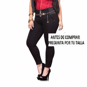 Jeans 58816 Corte Colombiano Skinyy T 5 21 Tallas Extras 44