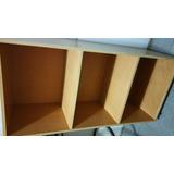 Mueble Estante Repisa Biblioteca De Madera Con 4 Ruedas