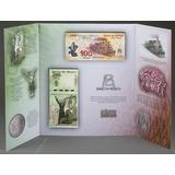Coleccionador De Billetes Conmemorativos De 100 Y 200 Pesos