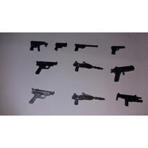 Acessórios Para Comandos Em Ação G.i Joe Lote Com 10 Armas