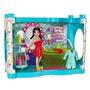 Juguete Polly Pocket Designables Crissy Baño Loft