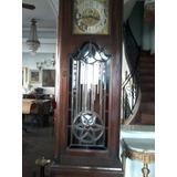 Reloj De Pie Antiguo Aleman. Firma Hans Winterhalder