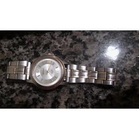 Relógio Seculus Long Life 5 Atm - Prata E Dourado