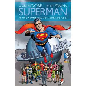 Kit Com 4 Hqs Do Superman - Ediçao De Luxo - Frete Gratis