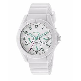 Reloj Fossil Es4064 Dama Blanco