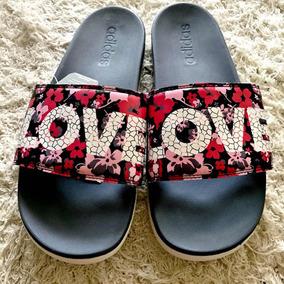 Chinelo Feminino adidas Adilette Slide Love Original