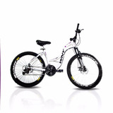 Bicicleta Feminina Aro 26 Wny Sofi, Freio A Disco 21 Marchas