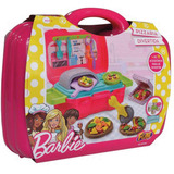 Massa Para Modelar Criativa Barbie Food Truck Pizzaria