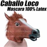 Máscara Caballo Loco Crazy Horse Original De Latex