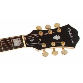 Guitarra Electroacustica Epiphone Ej200ce Afinador Y Eq