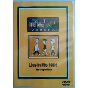 Dvd Legião Urbana Live In Rio 1994 Metropolitan