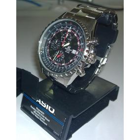 Oferta!! Casio Edifice Ef527 Piloto Aviador Envío Gratis!!