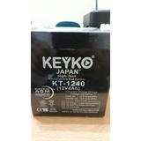 Bateria De 12v 4amp. Keyko Japan. Para Ups. Cercos. Centrale