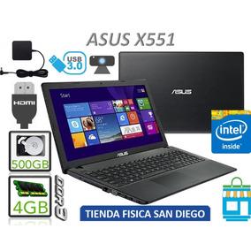 Asus Laptop 15.6p 4gb Ram Dualcore 500gb Sin Bateria Tienda